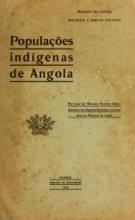 Cover of Populações indígenas de Angola