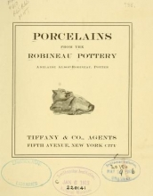 Cover of Porcelains from the Robineau Pottery