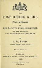 Cover of The post office guide