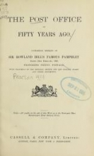 Cover of The Post Office of fifty years ago