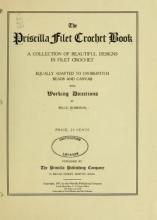 Cover of The Priscilla filet crochet book