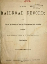 Cover of Railroad record