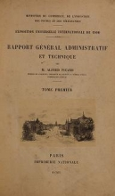 Cover of Rapport gel®el²al administratif et technique