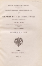 Cover of Rapports du Jury international