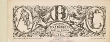 Cover of Recueil d'alphabets