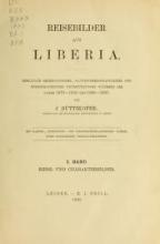 Cover of Reisebilder aus Liberia