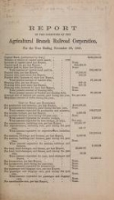 Cover of Reports of railroads for the year ending Nov. 30, 1861