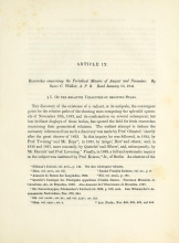 Cover of Researches concerning the periodical meteors of August and November
