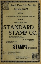 Cover of Retail price list no. 46