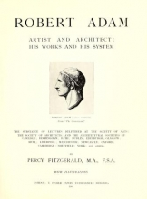 Cover of Robert Adam, artist and architect
