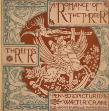 Cover of A romance of the three Rs