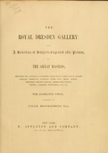 Cover of Royal Dresden Gallery