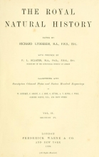Cover of The royal natural history