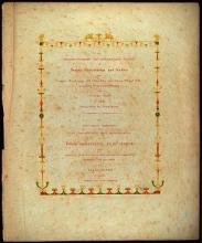Cover of Die schönsten Ornamente und merkwürdigsten Gemälde aus Pompeji, Herculanum und Stabiae nebst einigen Grundrissen und Ansichten nach den an Ort und Stelle gemachten Originalzeichnungen