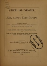 Cover of Scissors and yardstick