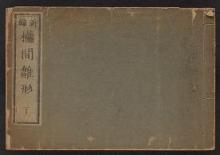Cover of Shinpen ranma hinagata v. 2