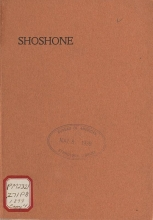 Cover of Shoshone