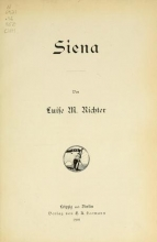 Cover of Siena,
