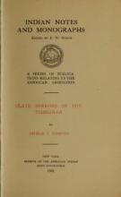 Cover of Slate mirrors of the Tsimshian