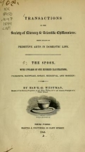 Cover of The spoon