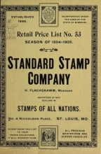 Cover of Standard Stamp Company