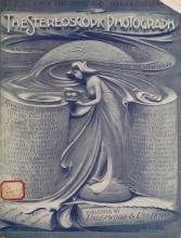 Cover of The Stereoscopic photograph v.1:no.2 (1901:Sept.)