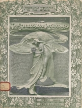 Cover of The Stereoscopic photograph v.1:no.4 (1902:March)