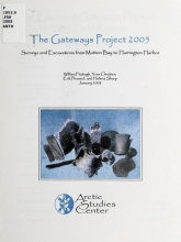 Cover of Surveys and excavations from Mutton Bay to Harrington Harbor