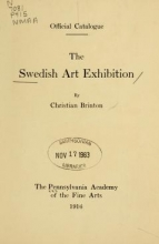 Cover of Swedish art exhibition