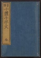Cover of Tenrei jittai senjimon