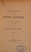 Cover of Tentures artistiques