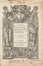 Cover of Theatre des instrumens mathematiques & mechaniques