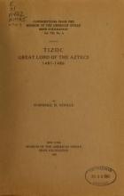 Cover of Tizoc