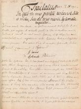 Cover of Tractatus in quo de vero partiu[m] universi situ et motu, seu de vero mundi systemate inquiritur