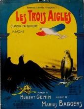 Cover of Les trois aigles