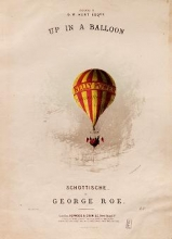 Cover of Up in a balloon