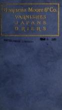 Cover of Varnishes, japans, drier