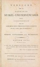 Cover of Versuche über die gereizte Muskel- und Nervenfaser