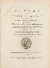Cover of A voyage to the Pacific Ocean v. 3