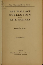 Cover of The Wallace collection and the Tate gallery
