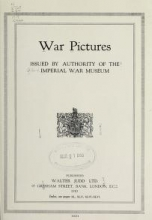 Cover of War pictures