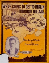 Cover of We're going to get to Berlin through the air