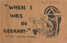 Cover of When I was in Germany