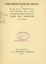 Cover of The Whistler journal