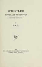 Cover of Whistler