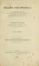 Cover of William John Burchell