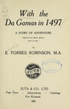 Cover of With the da Gamas in 1497