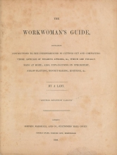 Cover of The workwoman's guide