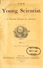 Cover of Young scientist.