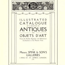 title page of a Spink's Gallery catalogue